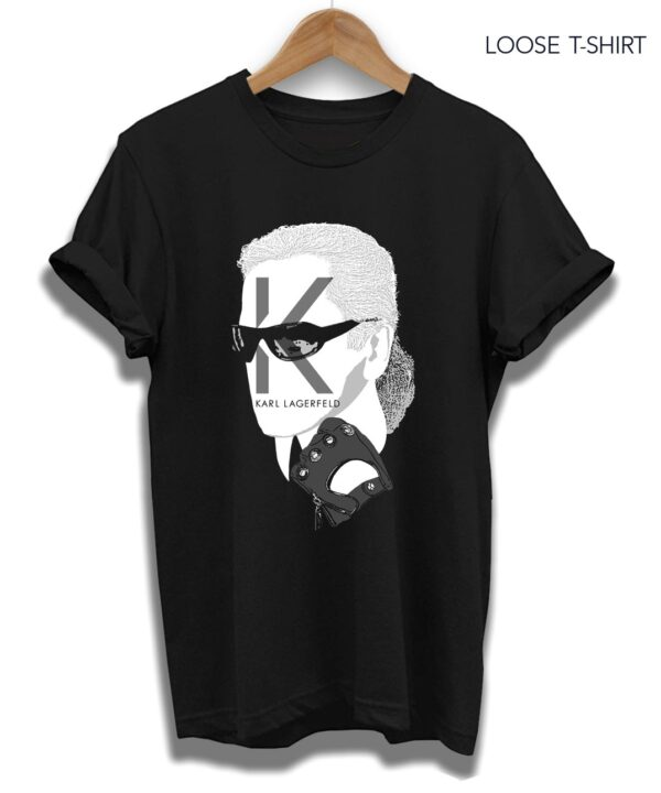 Karl who black tee