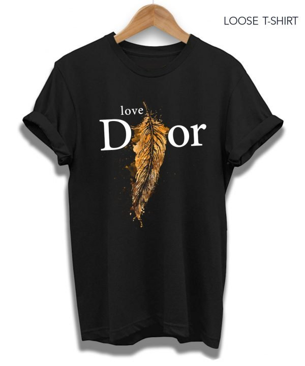 dior feather tee