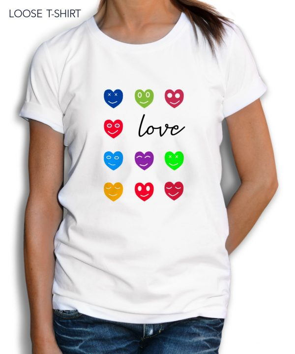 Love Hearts Colorful