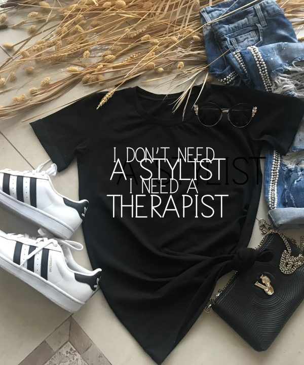 Text and Funny T-shirt